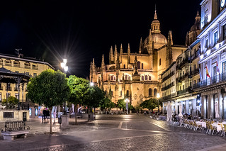 Segovia   |   Night Cathedral