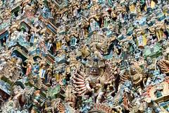 Detail of southern gopuram