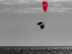 Up Up and away..... (McCrystaloz) Tags: kitesurfing summer