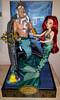 DFDC Ariel and King Triton (Lagoona89) Tags: disney the little mermaid ariel king triton doll designer fairytale collection repaint
