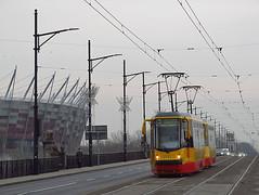 """FPS 123N """"Hipolit"""", #2142+2143, Tramwaje Warszawskie (transport131) Tags: tram tramwaj tw warszawa ztm warsaw fps hcp 123n hipolit"""