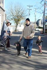 Running alongside (quinn.anya) Tags: sam preschooler tom dziadzi busia coaster dog poodle running edgartown marthasvineyard mary