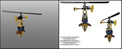 Patrol Copter (Space Glove) Tags: lego ldd steampunk