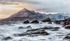 Elgol Rocks (anicoll41) Tags: skye highland scotland gb sea rocks waves longerexposure drama cuillin mountains