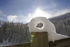 Sunlight prism in Val Federia (quanuaua) Tags: ifttt 500px winter sunlight italy valtellina prisma livigno val federia