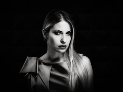 fasion beauty clairobscur portrait (sonofphotography) Tags: sonofphotography tsphotoart bw color beauty portrait light shade bokeh photo fashion grace art lady facebook instagram influencer contrast white black hasselblad x1d clair obscur
