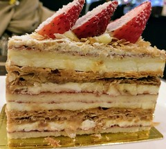 Piece of pastry or as they call it in French, feuilleter. Something like that. #pastery #pastry #cake #butter #cream #vanilla #gateau #gato #strawberries #strawberry #dessert #food #desserts #mmm #yum #yummy #amazing #instagood #instafood #sweet #delish # (Nil Hajra) Tags: yum gateau vanilla foodpics delish pastery eating eat foods cream amazing delicious gato desserts sweettooth mmm hungry butter cake tasty pastry sweet instagood strawberries dessert food instafood yummy strawberry