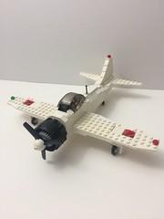 Zero side view (TheMachine27) Tags: lego zero wwii japanese fighter airplane mitsubishi military a6m