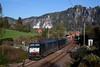 2 x ITL ES 64 F4 (288 + 210) + container  - Rathen (Rene_Potsdam) Tags: itl railroad br189 es64f4 rathen sächsische schweiz güterzug