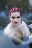 1M8A6593 (mozzie71) Tags: model red hair water river creek wet topless nature sunset glow