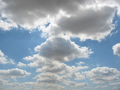 Fair weather clouds
