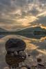 Dramatische Sonne - Explored (rahe.johannes) Tags: schottland highlands himmel sonnenuntergang steine loch awe landschaft explored