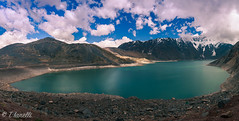 The Lake (tsoeiro) Tags: ifttt 500px sky landscape lake water clouds panorama mirror day barrage chile nobody no people stitch man made cajon del maipo