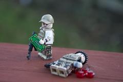 ...but money cannot buy loyalty. (LegoInTheWild) Tags: moc afol lego minifigure sidan brickarms brickmania money