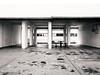 Empty (OzGFK) Tags: asia singapore bugis waterloocentre voiddeck film analog pentax645n 120 645 mediumformat empty stark barren bw blackandwhite monochrome urban building hdb apartment