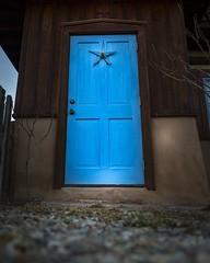 Blue door (RobbinsDar1) Tags: fujifilm xt2 door blue taos