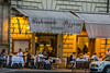 Cafe' life Rome (John Cosnett) Tags: evening nightlife street restaurant pepole building outdoors