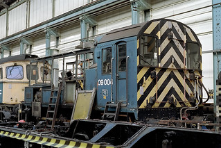 09004 at Eastleigh works