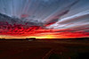 Stacked Fire Sky Sunrise_49 (northern_nights) Tags: stacked clouds firesky sunrise photoshop darkened