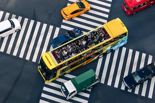 Hato bus at crossroad