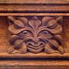 Green Man - St Mary's, Lockington (Roger Walton) Tags: elwelljames artists carvedwood carvings greenman lockington eastyorkshire england