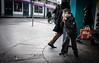 Fruitcake (Bone Setter) Tags: boy leaning umbrella street candid people birmingham