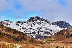The mighty Harrison Stickle.... (Amanda_Woo) Tags: breathtakinglandscapes nature beautifulplaces awesome amazing mountains harrisonstickle cumbria langdalepikes lakedistrict greatlangdale tak