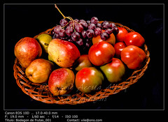 Basket of fruits (__Viledevil__) Tags: antioxidant arrangement basket breakfast bucket bunch combination composition food fresh fruit grapes grocery group healthy natural nourishment nutrition organic ornamental pears picnic pile seasonal taste tomato variety sanfernando cadiz españa