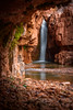 Cibecue-7544 (Michael-Wilson) Tags: arizona canyon waterfall michaelwilson stream river rock southwest landscape vertical cliff cave gravel