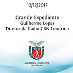 Grande Expediente - Apresentação do senhor Guilherme Lopes - Diretor Comercial e Relações Públicas da Rádio CBN Londrina