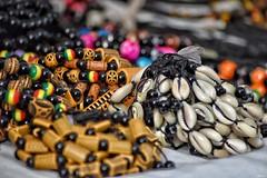 African beads! (Nina_Ali) Tags: depthoffield beads jewellery african thegambia afrique travelphotography westafrica ninaali