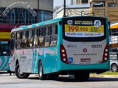 Auto Viação Urubupungá 00317 (busManíaCo) Tags: caioinduscar autoviaçãourubupungá caio apache vip iii mercedesbenz of1721 bluetec 5