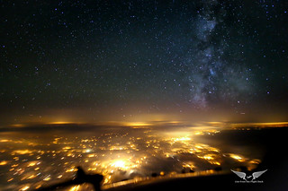 Chasing the Milky Way across Holland
