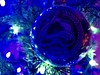 342/365/6 (f l a m i n g o) Tags: date year day month 2017 30th november holiday decoration tree pink blue sport hockey avalanche colorado christmas ornament 365days project365