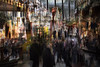 Weihnachtsmarkt (hansekiki ) Tags: bremen city marktplatz markt icm intentionalcameramovement multipleexposure mehrfachbelichtung canon 5dmarkiii