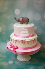 Elephant Girl Cake (toertlifee) Tags: törtlifee elephant elefant girl cake kuchen girly pink girlande kindertorte happybirthday torte kids geburtstag birthdaycake geburtstagstorte baby