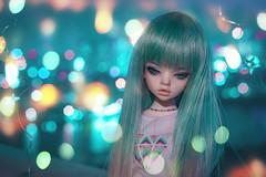 Sierra and Lights (Ilweranta) Tags: doll bjd msd dim laia bokeh dollinmind
