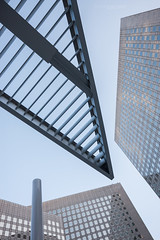 The modern skyscrapers of La Defense (Dmitry Yelloff) Tags: ladefense paris france business city modern company worldcorporation town market cityscape office center tradetower building stockexchange skyscraper urbanscene stock international landmark organization citylife capitalcities outdoors architecture workplace downtown district banking economics french big large tall high line conceptual abstract futuristic headquarters