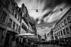 Eightyfour seconds (AlphaAndi) Tags: mono monochrome urban city langzeitbelichtung trier tiefenschärfe sony streets streetshots streetshooting