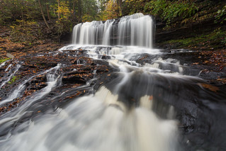 Flowing ... at Mohawk Falls