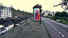 Baiana holandesa (André Felipe Carvalho) Tags: amsterdam holanda streetphotography street arte
