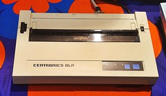 Centronics GLP Drucker (ca. 1984) (stiefkind) Tags: vcfb vcfb2017 vcfb17 vintagecomputing centronics glp