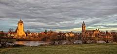 Grossauheim am Main (wernerfunk) Tags: hessen fluss