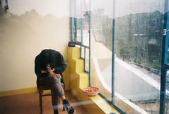(bìng) Tags: dalat film 35mm canon vietnam rain filmisnotdead cat wander