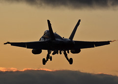 Dusk Hornet (np1991) Tags: royal air force raf lossiemouth lossie moray scotland united kingdom uk switzerland swiss boeing fa18c f18 fa18 f18c hornet bug nikon digital slr dslr d7100 camera sigma 50500mm 50 500 50500 bigma lens aviation planes aircraft dusk sunset