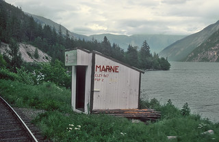 Simplicity, BC Rail, south of Lillooet, British Columbia on May 28, 1992