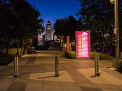 Grand Park at Sunrise (waterman1) Tags: dtla downtown losangeles hasselblad hasselbradx1d x1d xcd45mm grandpark cityhall