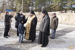 62. Закладка собора в г. Святогорске 01.11.2009