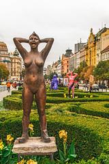 Punk (fotofrysk) Tags: punk statue art sculpture byannakrninska sculpturesonthesquarewenceslassquare vaclavskenam easterneuropetrip prague praha czechrepublic sigma1750mmf28exdcoxhsm nikond7100 201709246025