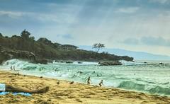 Waimea Bay (CosmoClick) Tags: swimming hawaii waimea waves cosmoclick wow